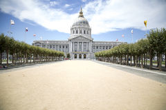 San Francisco City Hall. From San Francisco City Hall Royalty Free Stock Photography