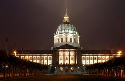 San Francisco City Hall, California Royalty Free Stock Photos