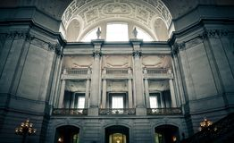 San Francisco City Hall interior Royalty Free Stock Photography
