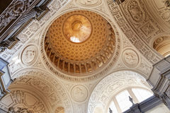 San Francisco City Hall. Interior of largest dome in the United States Royalty Free Stock Image
