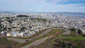 San Francisco City, la Californie, Etats-Unis Image libre de droits