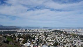San Francisco City, la Californie, Etats-Unis Images libres de droits