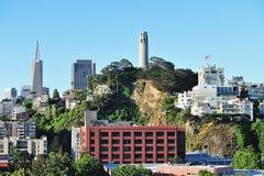 San Francisco city landscape Stock Image