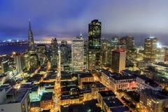 San Francisco City Lights Stock Photos