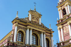 San Francisco in the city of Salta, Argentina Royalty Free Stock Photography