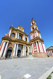 San Francisco in the city of Salta, Argentina royalty free stock image