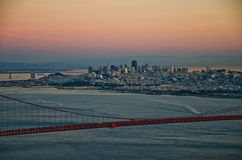 San Francisco city skyline Royalty Free Stock Photo