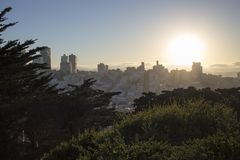 San Francisco City Royalty Free Stock Images