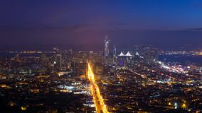 San Francisco City - skyline da cidade de San Francisco fotografia de stock royalty free