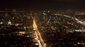 San Francisco City Sunset stock video