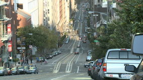 San Francisco City Traffic Time Lapse - clip 6 almacen de metraje de vídeo