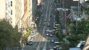 San Francisco City Traffic Time Lapse - clip 5 almacen de video