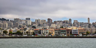 San Francisco city view from the Bay Stock Photography