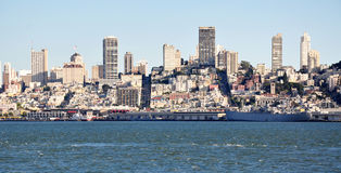 San Francisco city view Royalty Free Stock Image