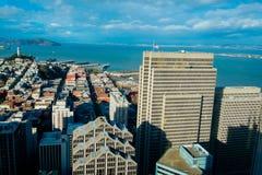 San Francisco City Views Stock Photos