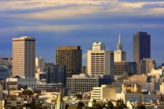 San Francisco Cityscape Stock Photography