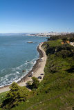 San Francisco cityscape. San Francisco city view from Golden Gate bridge Royalty Free Stock Photo