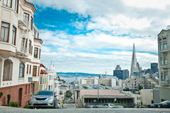 San Francisco Cityscape Stock Photo