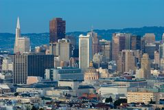 San Francisco cityscape Stock Images