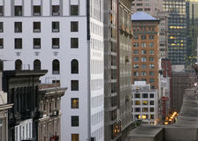 San Francisco Cityscape foto de stock royalty free