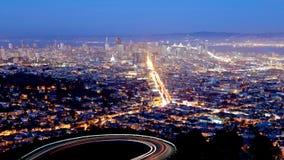 San Francisco Cityscape Arkivfoto