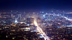 San Francisco Cityscape Royaltyfri Foto