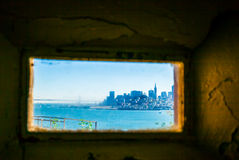 San Francisco Cityscape Arkivbilder