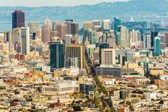 San Francisco Cityscape Fotografie Stock Libere da Diritti