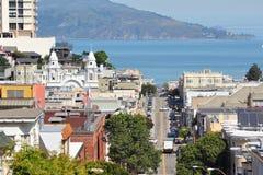 San Francisco cityscape Stock Photos
