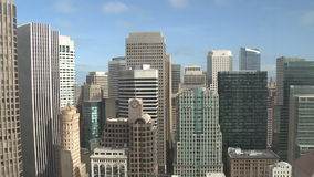 San francisco cityscape and clouds timelapse stock footage