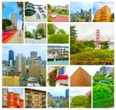 San Francisco Cityscape com arranha-céus do centro Fotografia de Stock