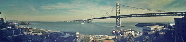 San Francisco cityscape Royalty Free Stock Images