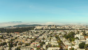 San Francisco Cityscape Time Lapse Pan stock video