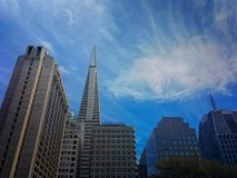 San Francisco, Cityscape van Californië Royalty-vrije Stock Afbeeldingen