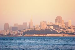 San Francisco cityview Royalty Free Stock Photos
