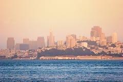 San Francisco cityview Royalty Free Stock Photos