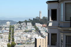 San Francisco Coit Tower Stock Photos