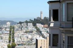 San Francisco Coit Tower Stock Photos