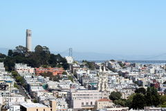 San Francisco Coit Tower Royalty Free Stock Images