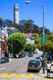 San Francisco Coit Tower Lizenzfreies Stockfoto