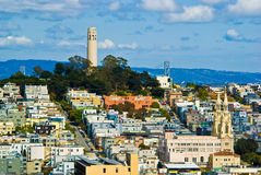 Free San Francisco Coit Tower Stock Photography - 54233602