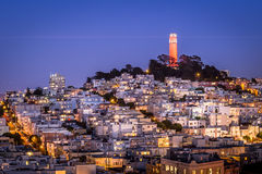 San Francisco Coit Tower Stock Photography
