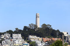 San Francisco Coit Tower Stock Image