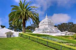 San Francisco Conservatory av blommor Royaltyfria Bilder