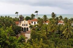 San Francisco Convent Facade Olinda Brazil stock image