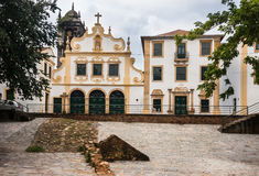 San Francisco Convent Facade Olinda Brazil Royalty Free Stock Photography