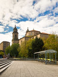 San Francisco convent in Santiago de Compostela.  Royalty Free Stock Photos
