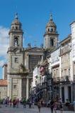 San Francisco convent in Santiago de Compostela Stock Photos