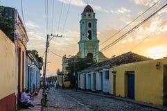 San Francisco Convent in Trinidad, Cuba Stock Photos