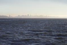 San Francisco da baía, golden gate bridge fotografia de stock royalty free